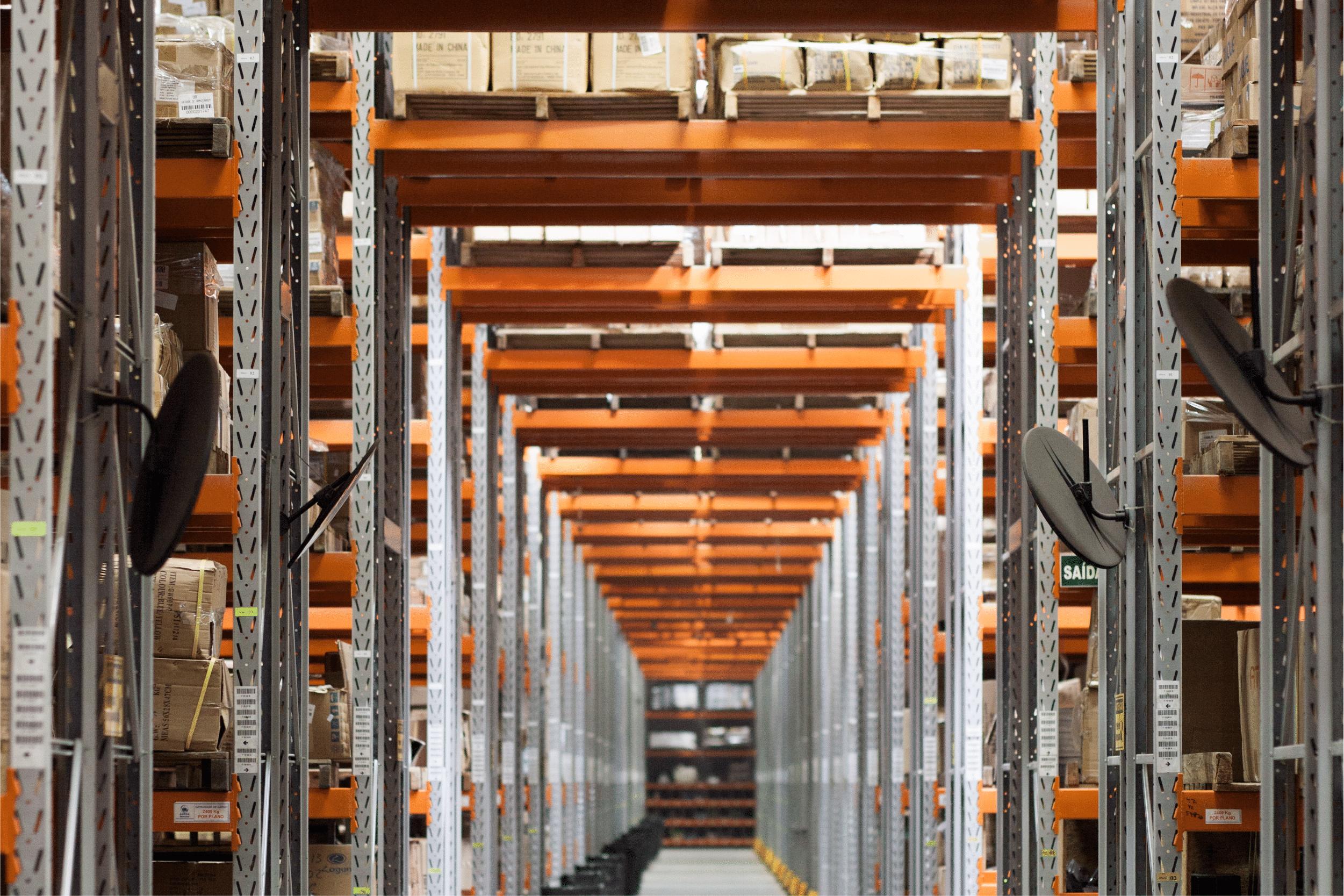 Isle of warehouse